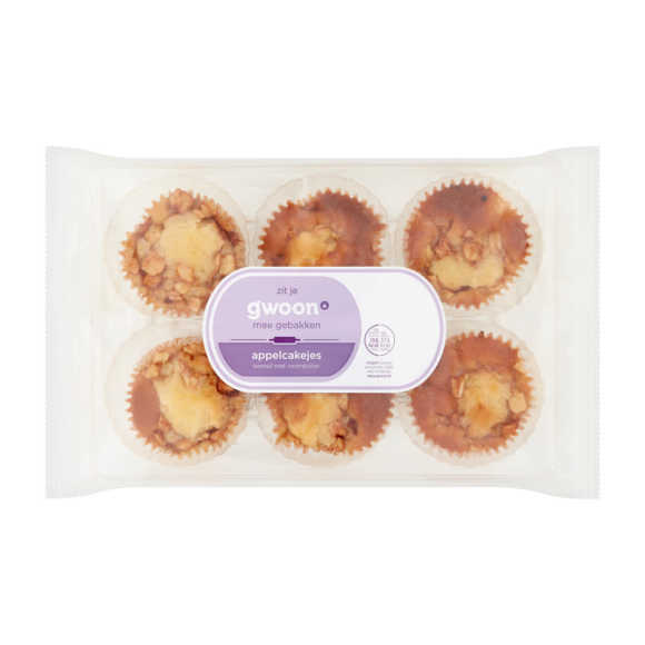 g'woon Roomboter appelcakejes product photo