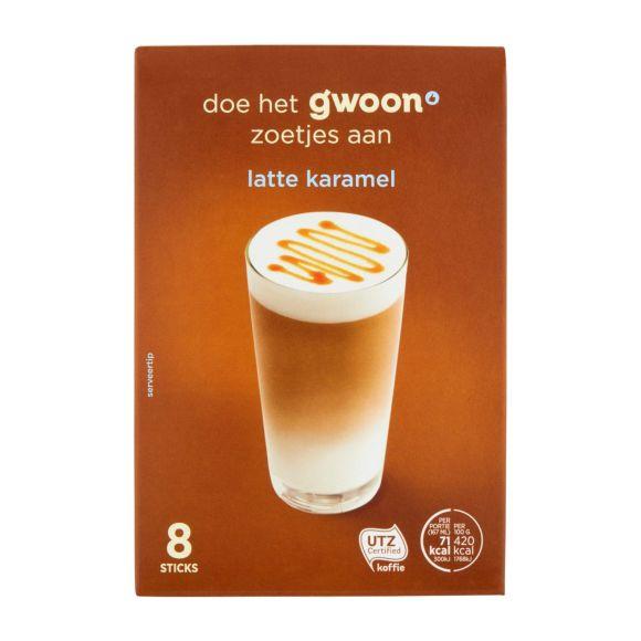 g'woon Latte caramel product photo