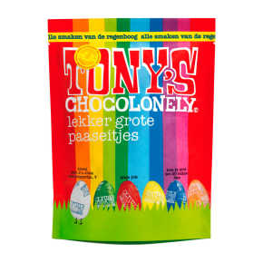 Tony's Chocolonely Paaseitjes pouch assorti product photo