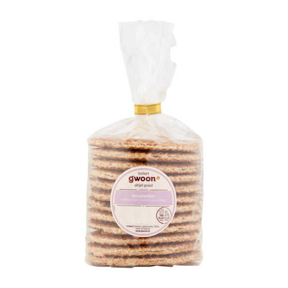g'woon Roomboter vulling stroopwafels product photo