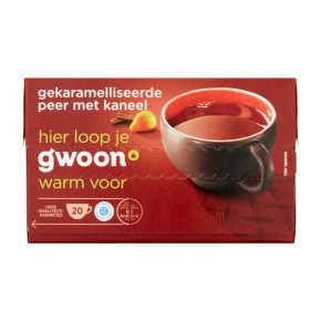 g'woon Thee karamel peer kaneel product photo