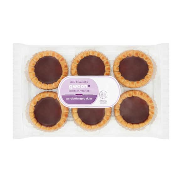 g'woon Aardbeien gebakjes product photo