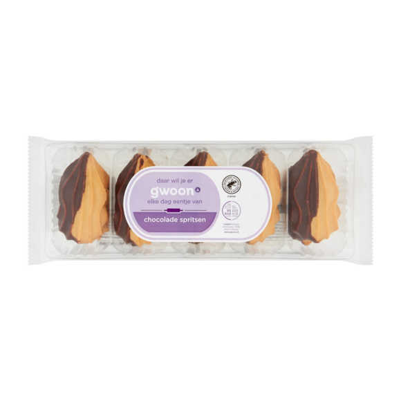 g'woon chocolade Spritsen product photo