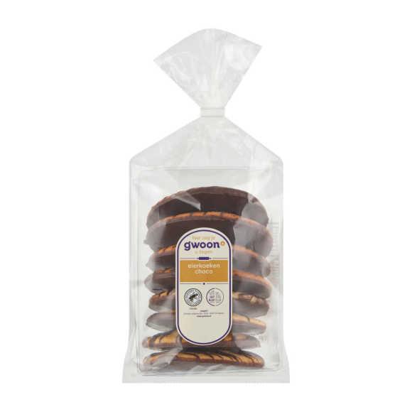 g'woon Eierkoeken Choco 310 g product photo
