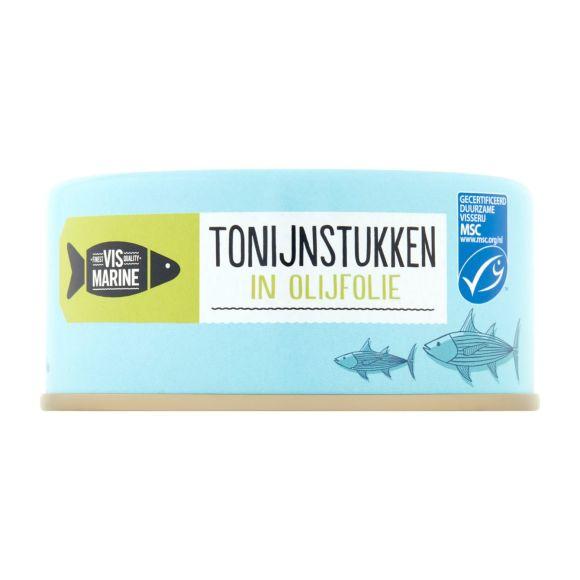 Vismarine Tonijnstuk in olijfolie product photo