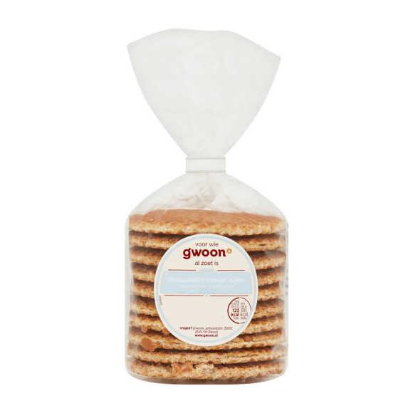 g'woon Stroopwafel minder suiker product photo