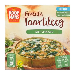 Koopmans Groente taartdeeg spinazie product photo