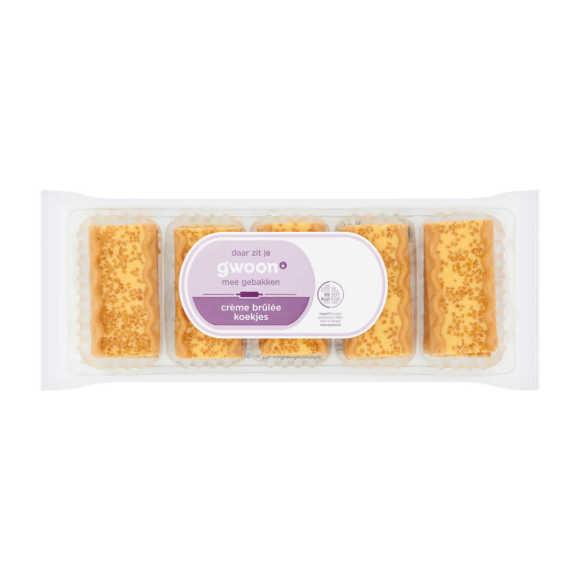 g'woon Creme Brulee koekjes product photo