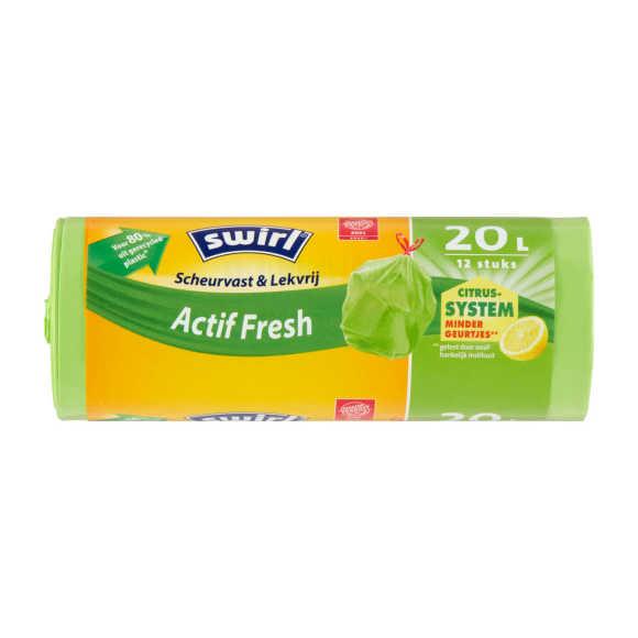 Swirl Afvalzakken actiffresh 20 liter product photo