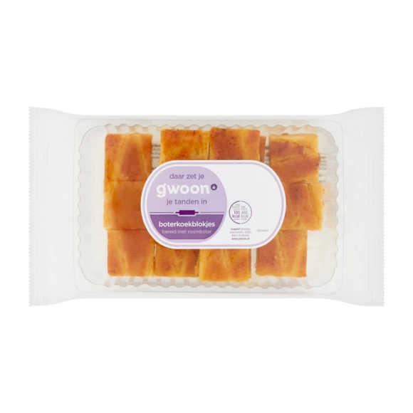 g'woon Roomboter boterkoek blokjes product photo