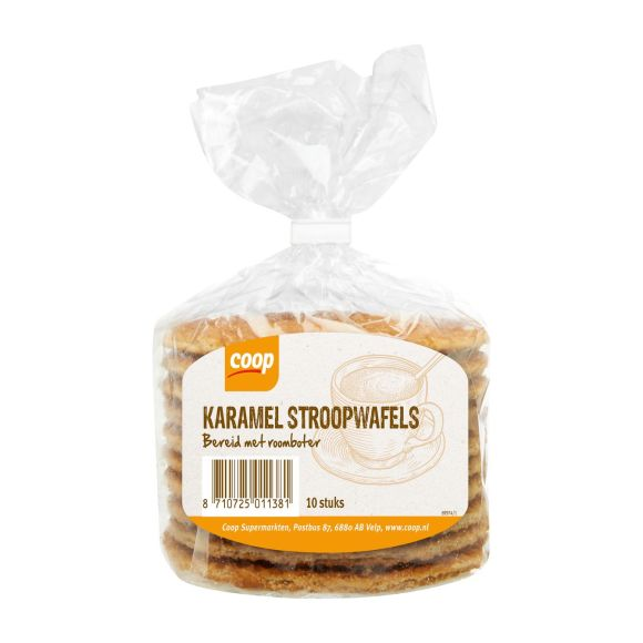 Coop Karamel stroopwafels product photo