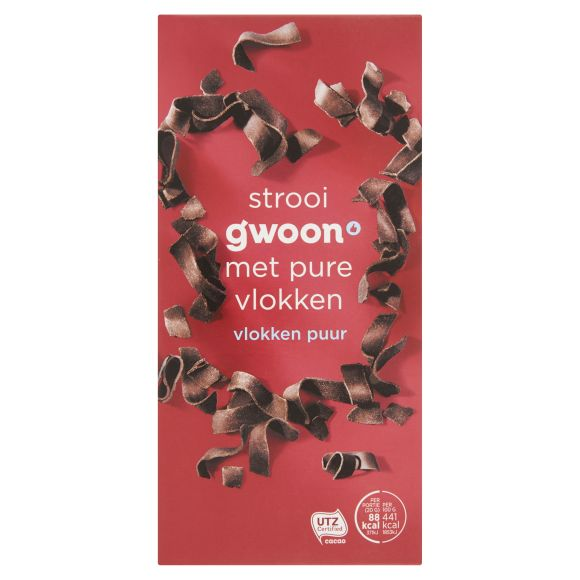 g'woon Vlokken puur product photo