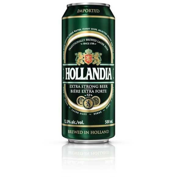 Hollandia Super strong speciaal bier blik product photo