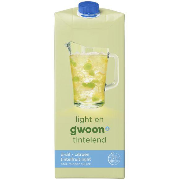 g'woon Tintelfruit light witte druif product photo