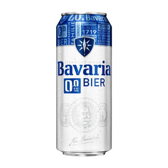 Bavaria 0.0% pils blik product photo
