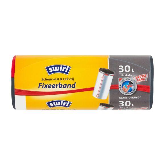 Swirl Afvazakken 30 liter Fixeerband Extra Hoog 10 stuks product photo