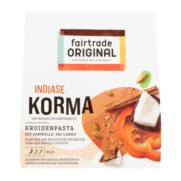 Fair Trade Original Kruidenpasta korma product photo