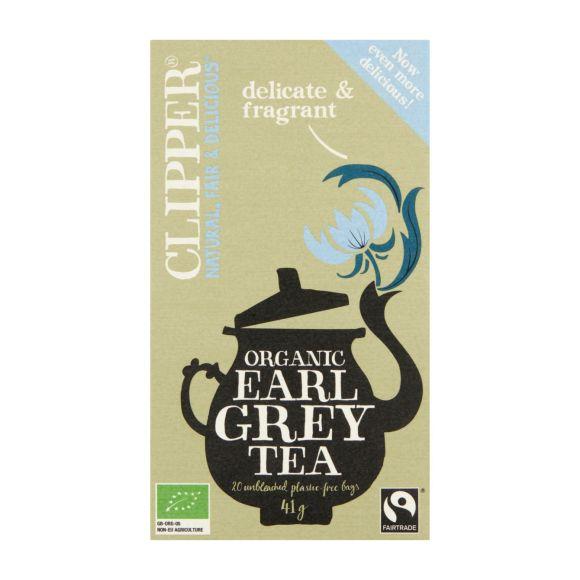 Clipper Organic earl grey tea biologisch product photo