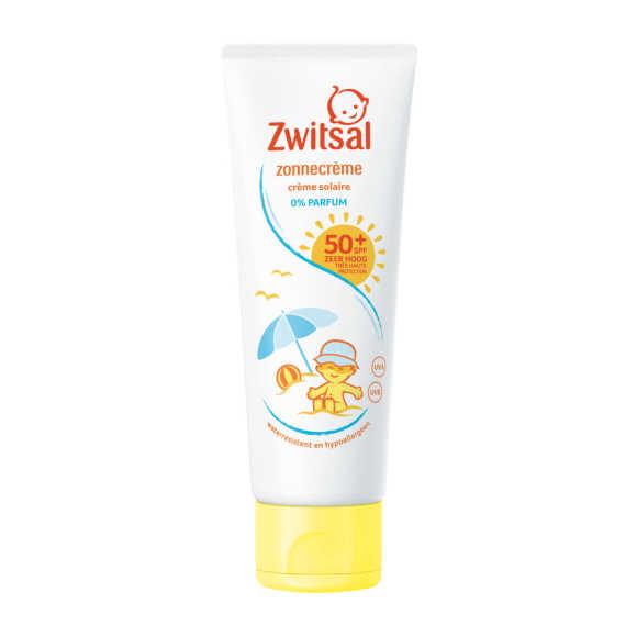 Zwitsal Zonnecreme spf50 0% parfum product photo