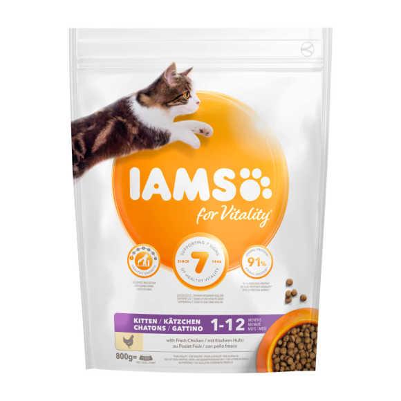 Iams Vitality kip kitten product photo