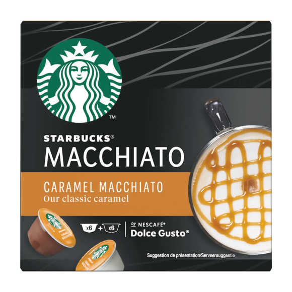 Starbucks By Nescafé Dolce Gusto caramel macchiato product photo