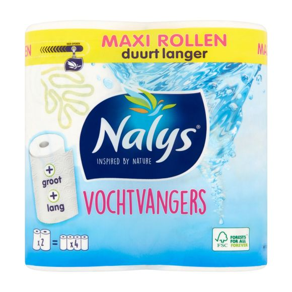 Nalys Vochtvangers maxi keukenpapier product photo