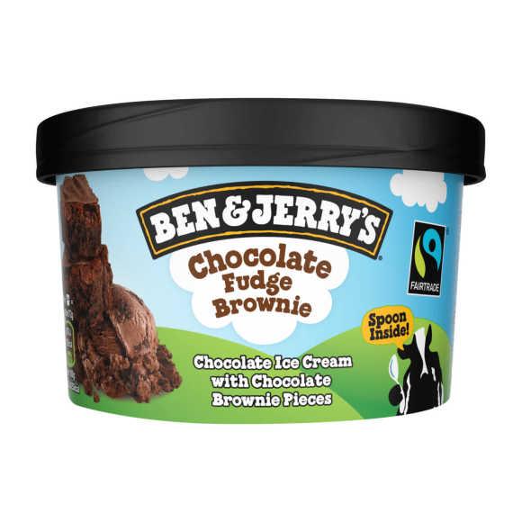 Ben & Jerry's Chocolate fudge brownie schepijs product photo