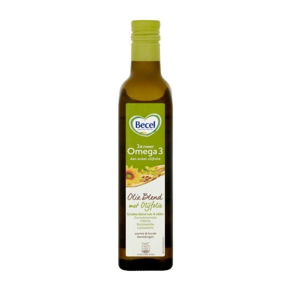 Becel Olie blend olijfolie vegan en 100% plantaardig fles product photo