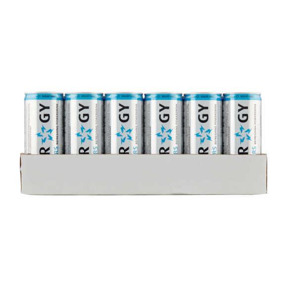 Slammers Energy drink suikervrij blik 24 x 250 ml product photo