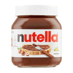 Nutella Hazelnootpasta middel product photo
