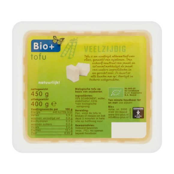 Bio+ Biologische tofu product photo