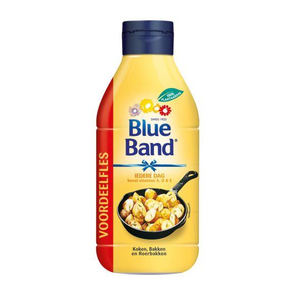 Blue Band Iedere dag vloeibare bakboter vegan voordeelfles product photo