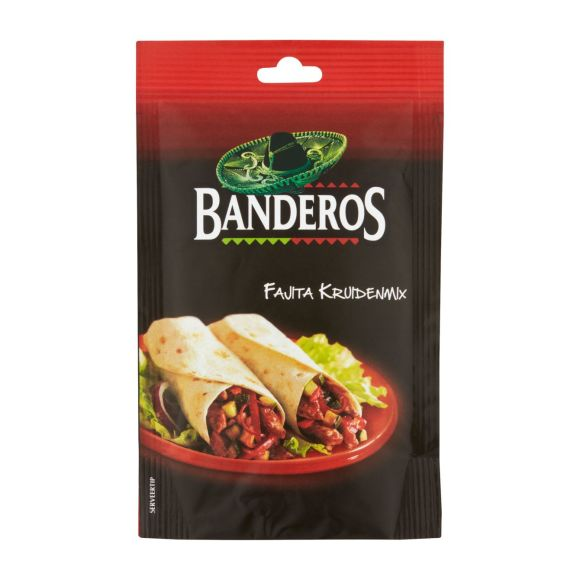 Bandero Fajita tortilla mix product photo