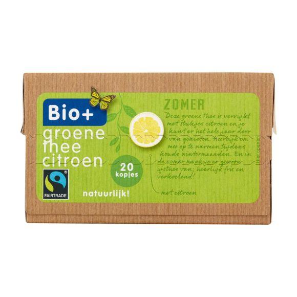 Bio+ Groene thee citroen product photo