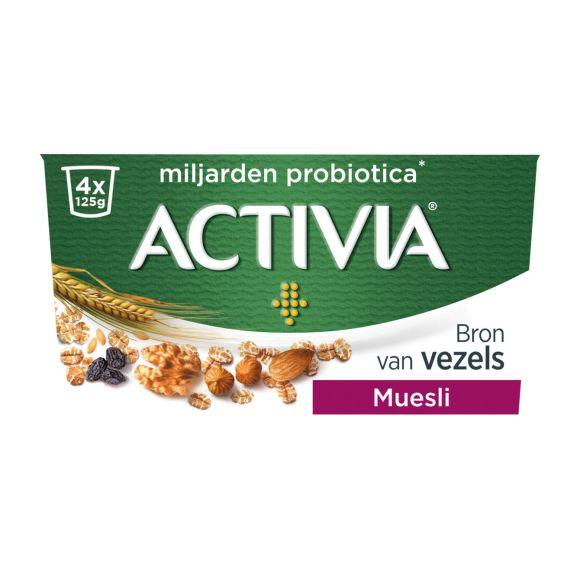 Activia Yoghurt muesli product photo