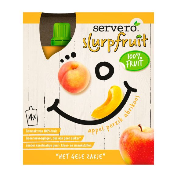 Servero Slurpfruit geel product photo