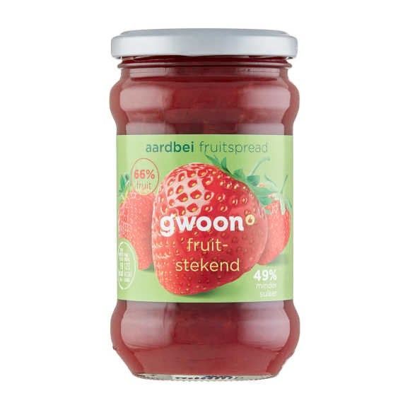 g'woon Fruitspread aardbei product photo