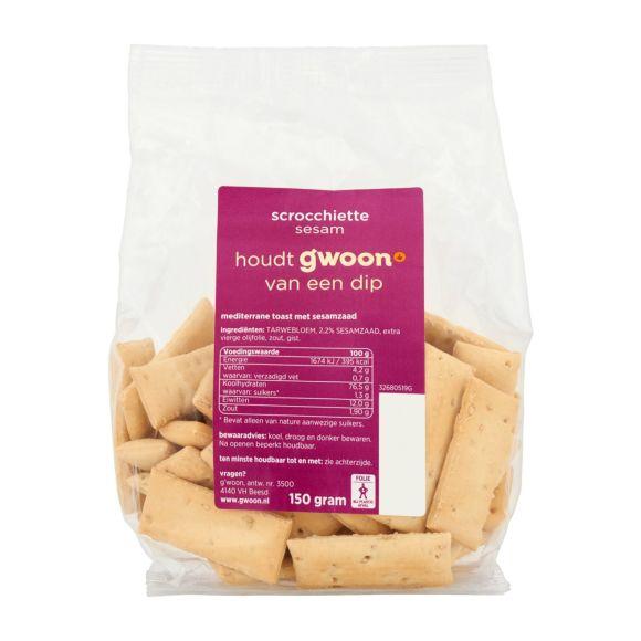 g'woon Toast cracker mediterrane product photo