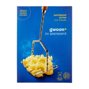 g'woon Aardappelpuree à la minute product photo