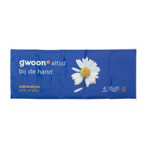 g'woon zakdoekjes 4-laags product photo