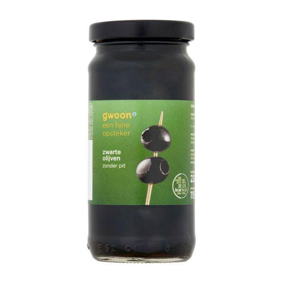 g'woon Zwarte olijven zonder pit product photo