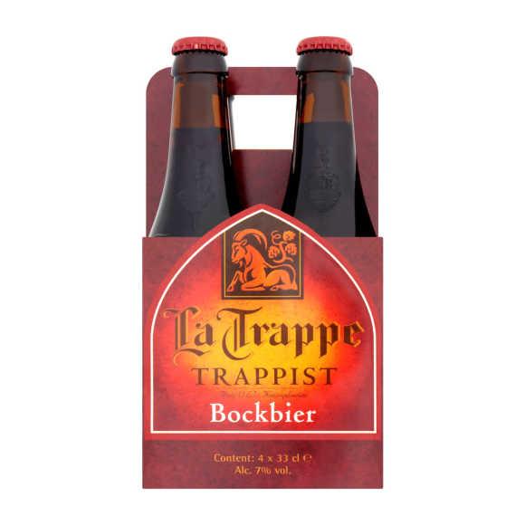 La Trappe Bock bier fles product photo