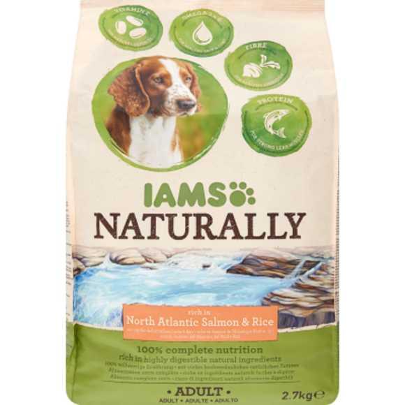 Iams Naturally hond zalm & rijst product photo