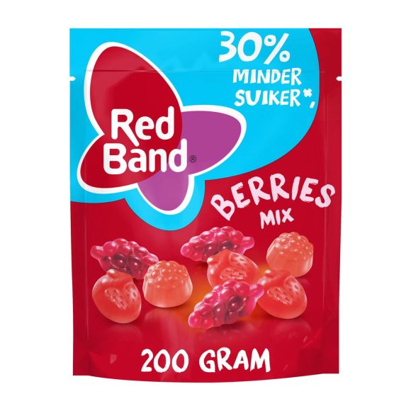 Red Band berries mix 30% minder suiker product photo