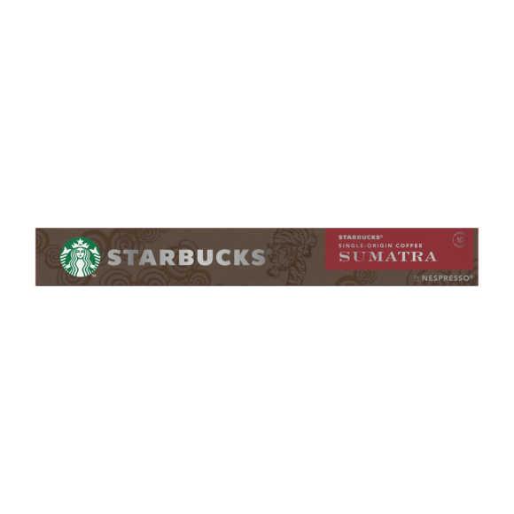 Starbucks Nespresso sumatra koffiecups product photo
