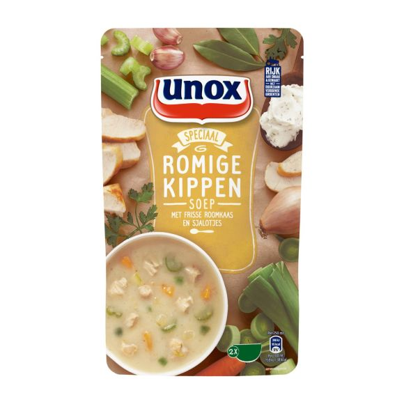 Unox Romige kippensoep product photo