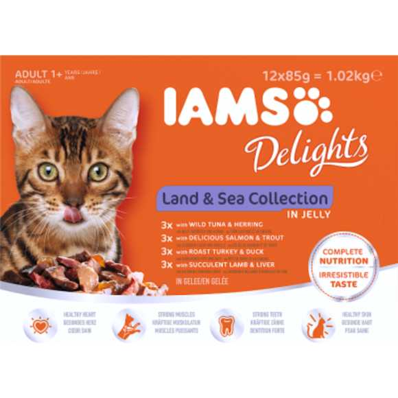 IAMS Delights land & sea Collection product photo