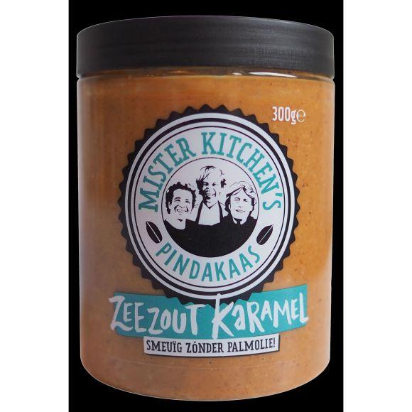 Mr Kitchen Pindakaas zee zout karamel product photo