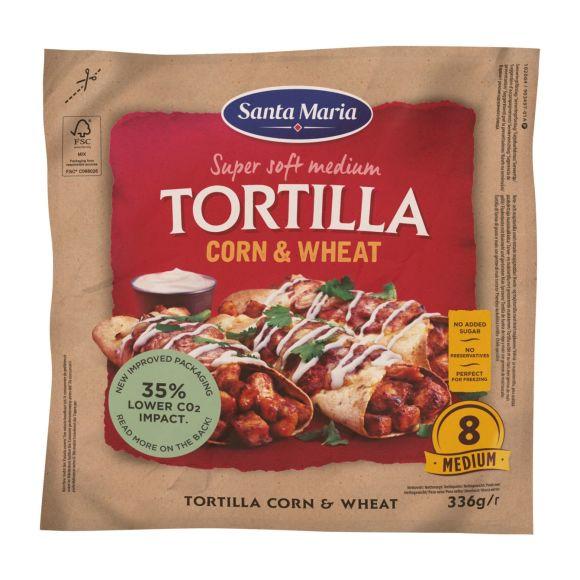 Santa Maria Tortilla corn & wheat product photo