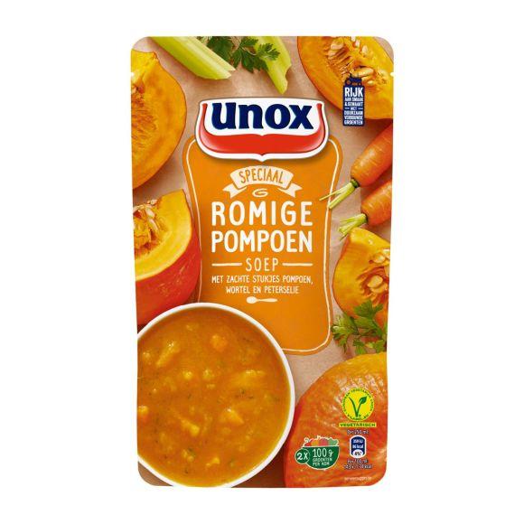 Unox Soep pompoen soep in zak product photo